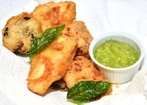 Russian Fritto Misto and Cucumber Ketchup