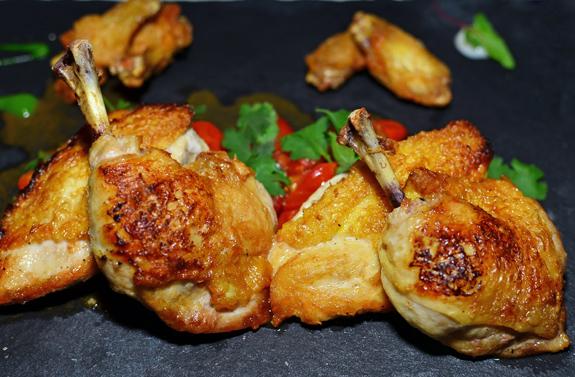 Russian Cuisine - Ariana - Chicken Tabaka