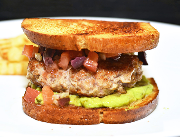 Russian Burger - made with 5 most wasted foods