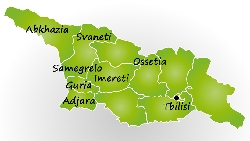 Khachapuri - Georgian Regions