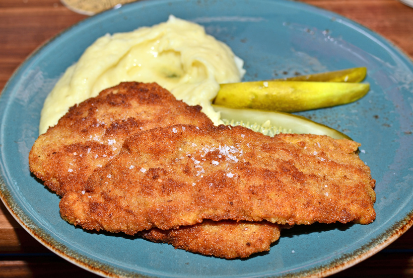 Czech Cuisine - Hospoda - Schnitzel