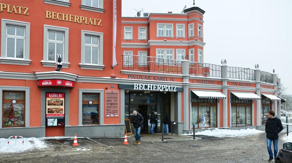 Karlovy Vary - Becherovka Museum