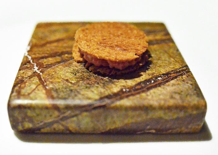 La Dégustation Bohême Bourgeoise - Amuse-Bouche - Beef Tartare