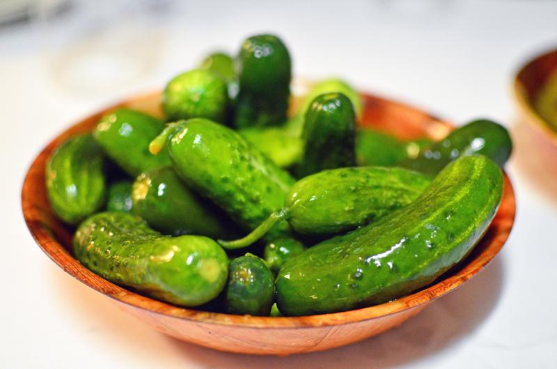 Sammy's Roumanian Steakhouse - Pickled Vegetables
