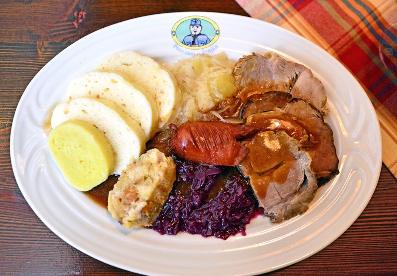 Restaurant U Švejka - Bohemian Plate