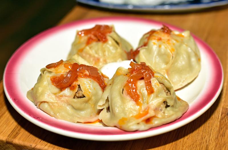 Uzbek Cuisine - Uma's - Manty