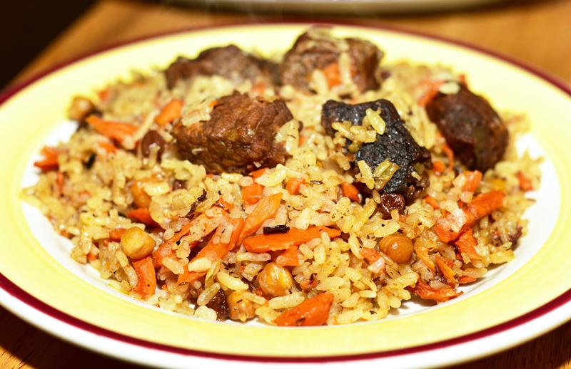Uzbek Cuisine - Uma's - Plov