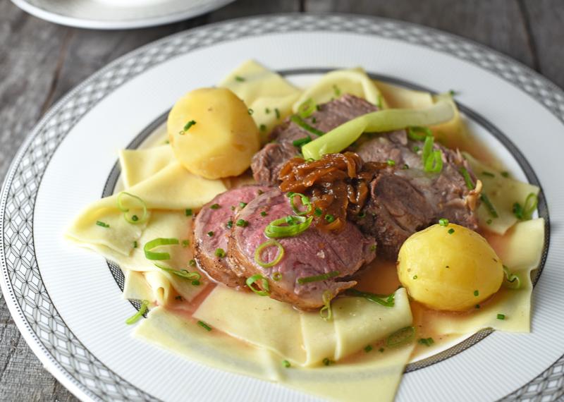 Kazakh Cuisine - Beshbarmak