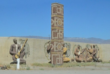 Road to Khojand - Soviet Relief