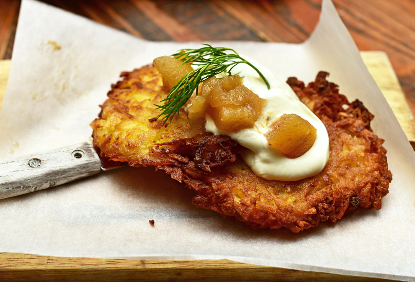 Doma Na Rohu - Potato Pancakes
