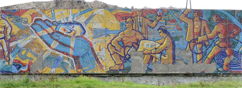 Road to Dushanbe - Takfon - Soviet Mosaic