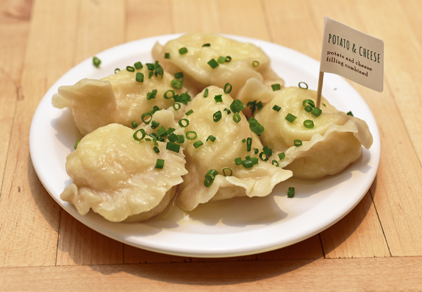 Slovak Food - Baba's Pierogies - Potato Cheese Pierogies