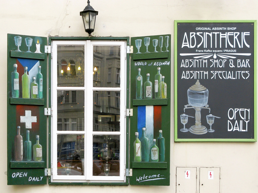 Prague - Absintherie Bar and Shop