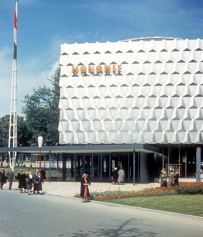 1958 Brussels World's Fair - Hungarian Pavilion