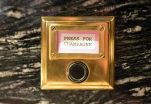 London - Bob Bob Ricard - Press for Champagne
