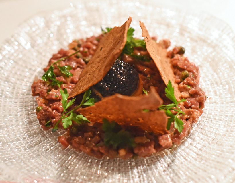 London - Bob Bob Ricard - Steak Tartare Imperial