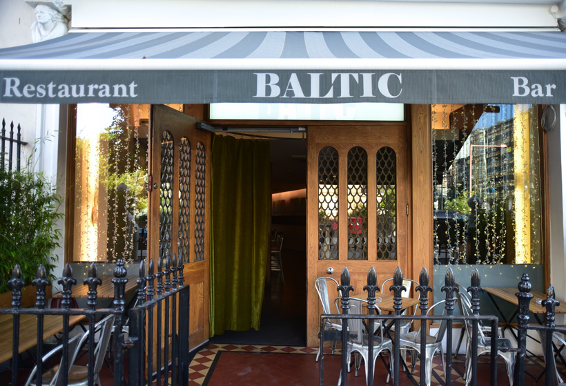 London - Baltic Restaurant