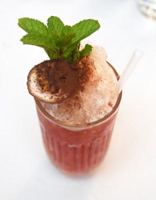 London - Baltic Restaurant - Cocktail