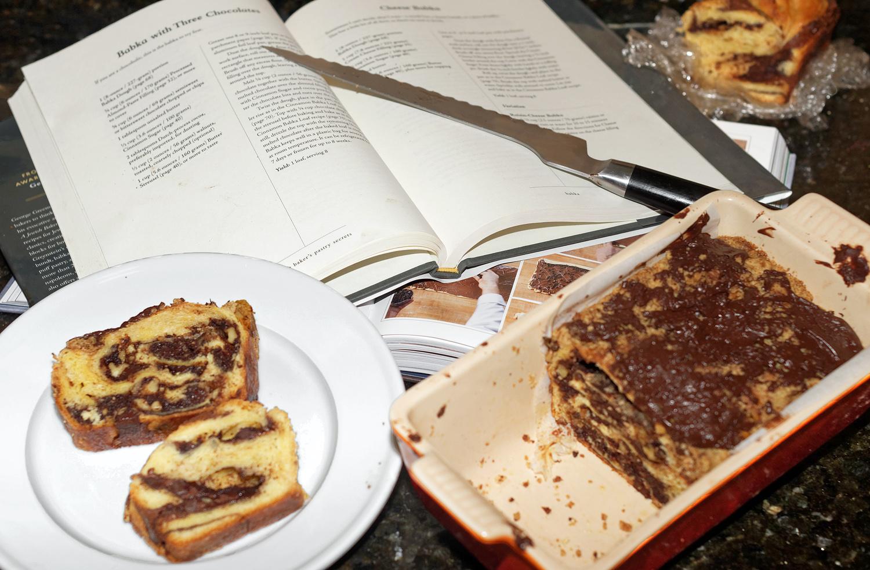 Making Chocolate Babka
