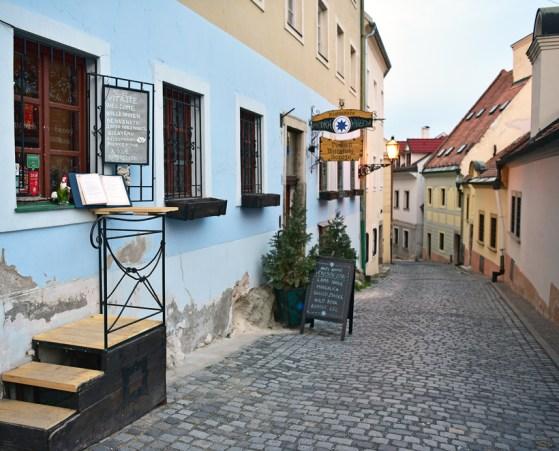 Bratislava - Modrá Hviezda Restaurant