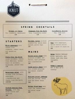 Stockholm - Knut Restaurant