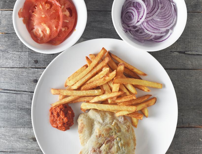 Croatian Cuisine - Pljeskavica