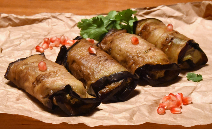 Bahor - Eggplant Rolls