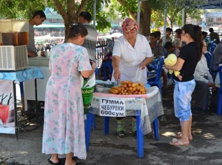 Tashkent - Gumma Chebureks near Chorsu Bazaar