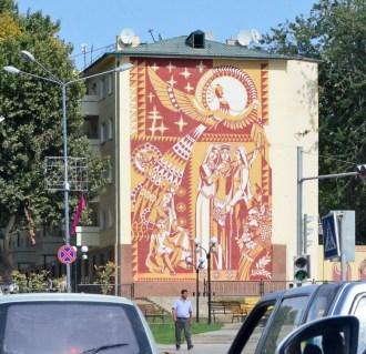Tashkent - Building Mural