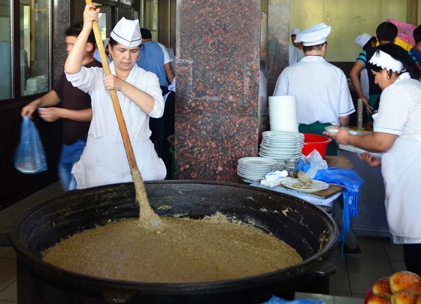 Tashkent - National Food Restaurant - Moshkichiri