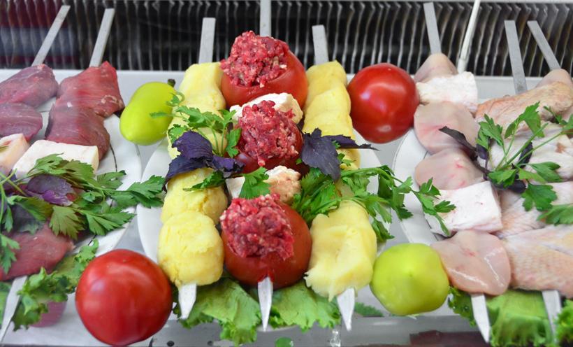 Samarkand - Restaurant Karimbek - Kebabs