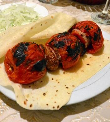 Samarkand - Restaurant Karimbek - Kebab