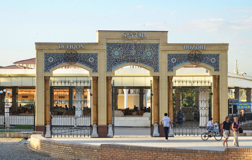 Samarkand - Siyob Bazaar