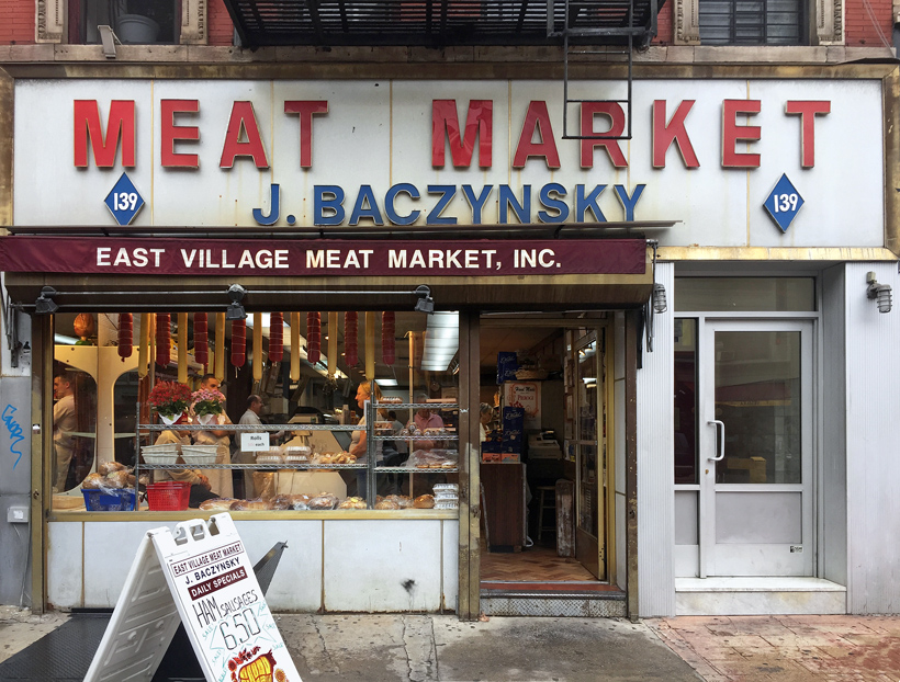 East Village Meat Market, New York