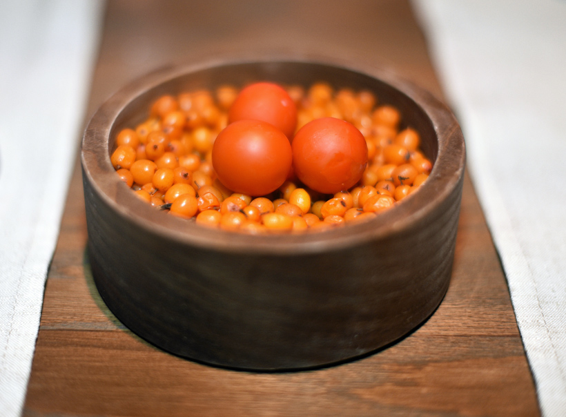 Moscow - White Rabbit - Sea Buckthorn Spheres