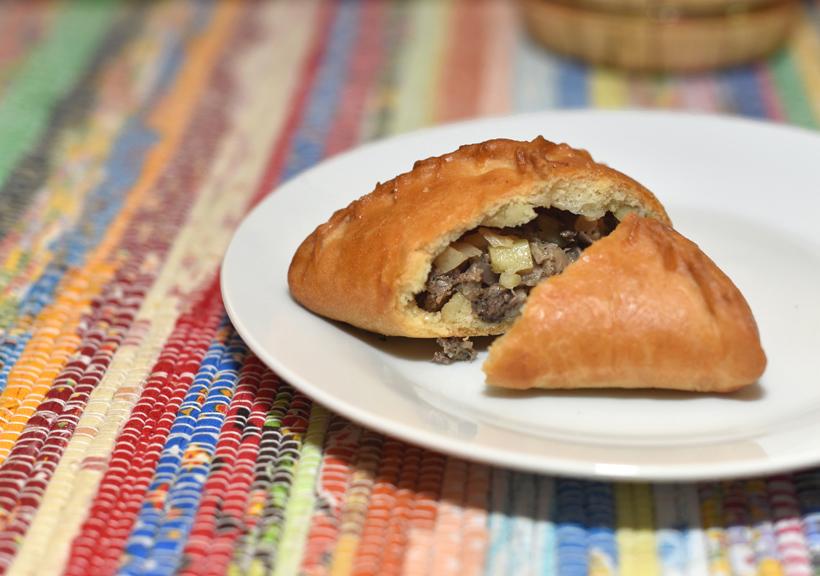 Tatar Cuisine - Kazan Chay Bar - Echpochmak
