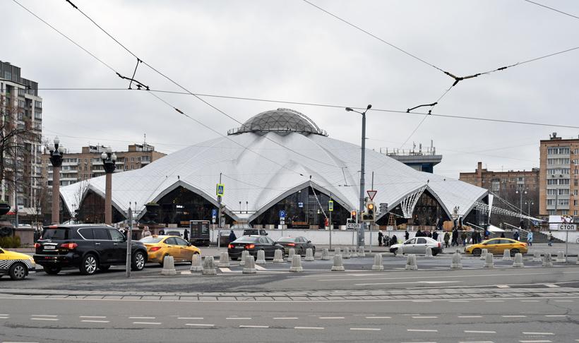 Moscow - Danilovsky Market
