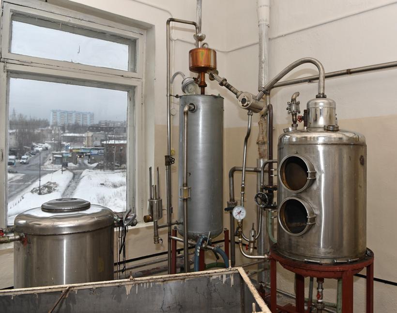 Petrovsky Liquor Factory - Still
