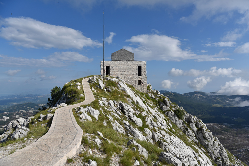 Lovćen National Park - Njegoš Mausoleum