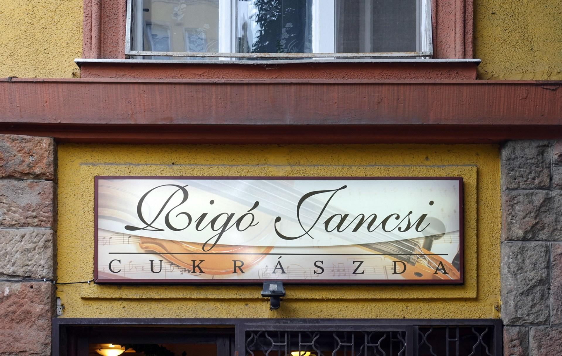 Rigó Jancsi Pastry Shop