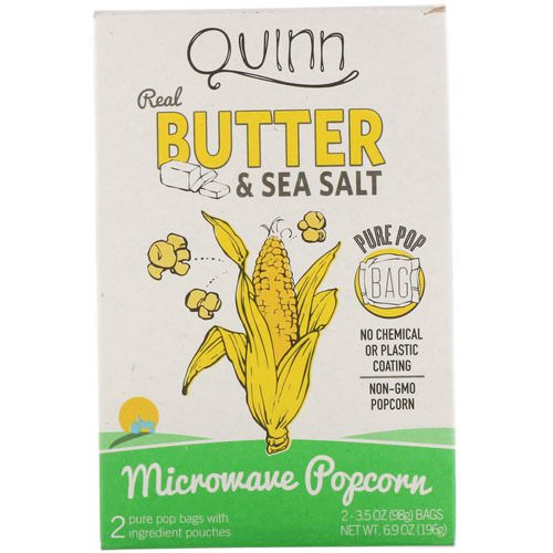 quinn popcorn real butter sea salt
