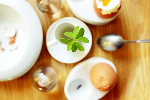 four leaf clover breakfast