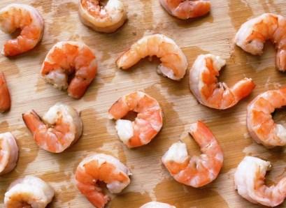 wet shrimp