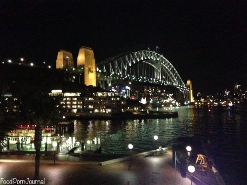View Sydney Harbour Bridge Quay Sydney