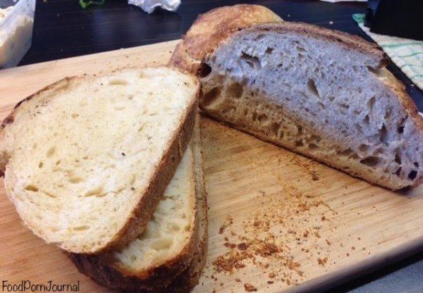 A Baker sourdough bread