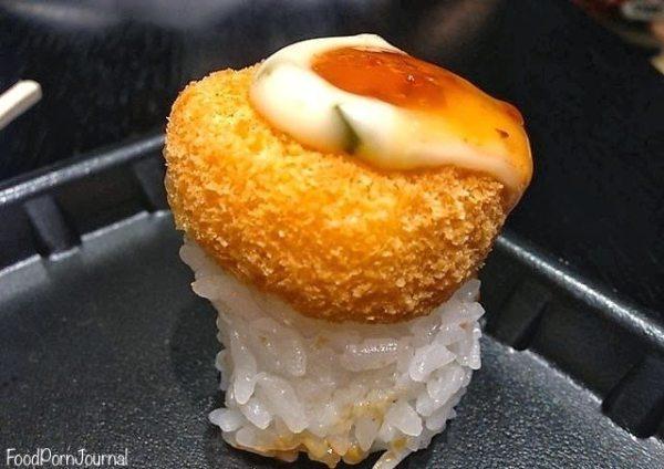 Hero Sushi fried scallop