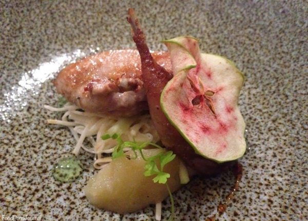 Sage Dining Canberra quail