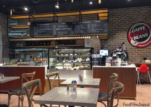 Cafe Cherry Beans Woden 1