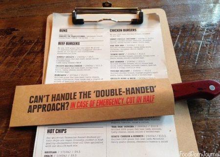 Grill'd menu