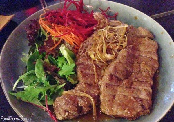 Iori Plus Deakin garlic steak